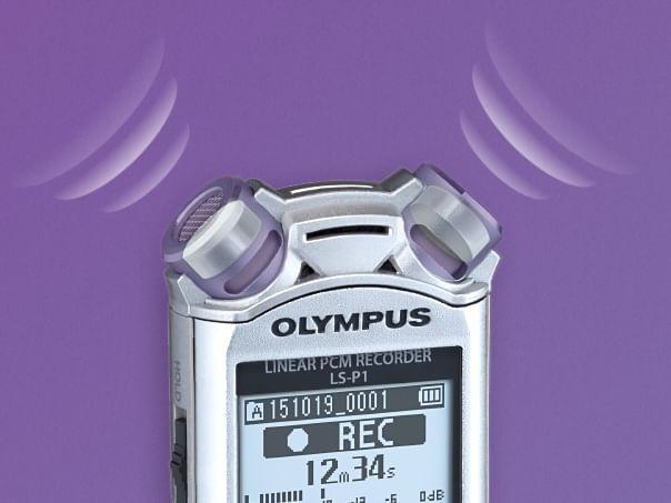 Olympus LS-P1 reportofon