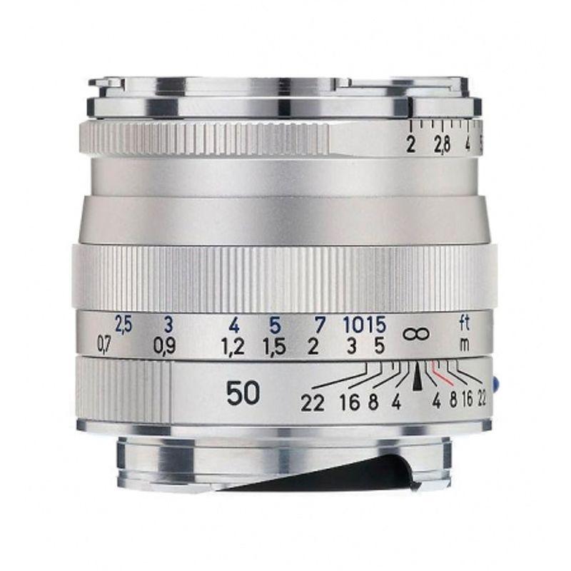 zeiss-ikon-argintiu-kit-zeiss-planar-t-50mm-f-2-zm-parasolar-cutie-piele-serie-limitata-13289-2