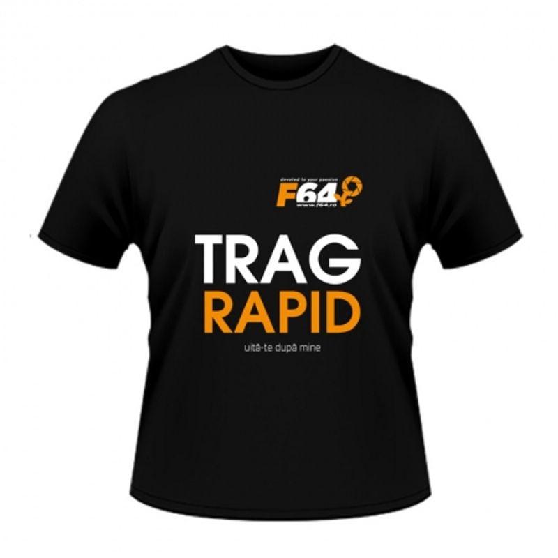 tricou-negru-trag-rapid-xxl-27341