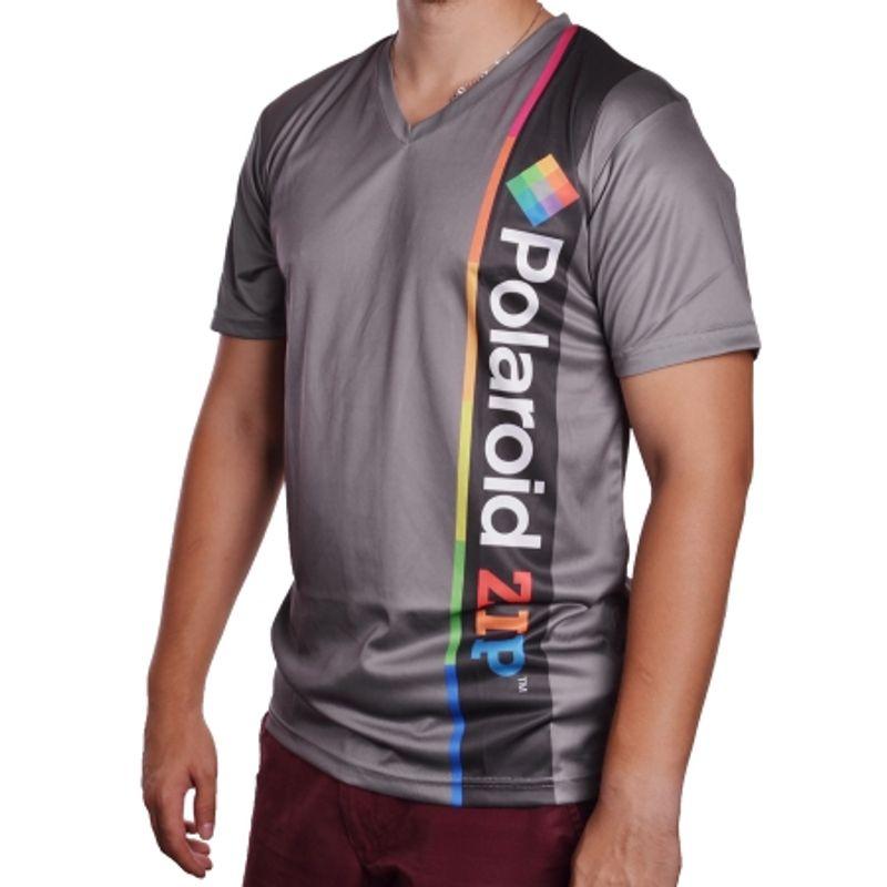 polaroid-polshirtsnapxl-tricou-polo-xl--gri--63218-805