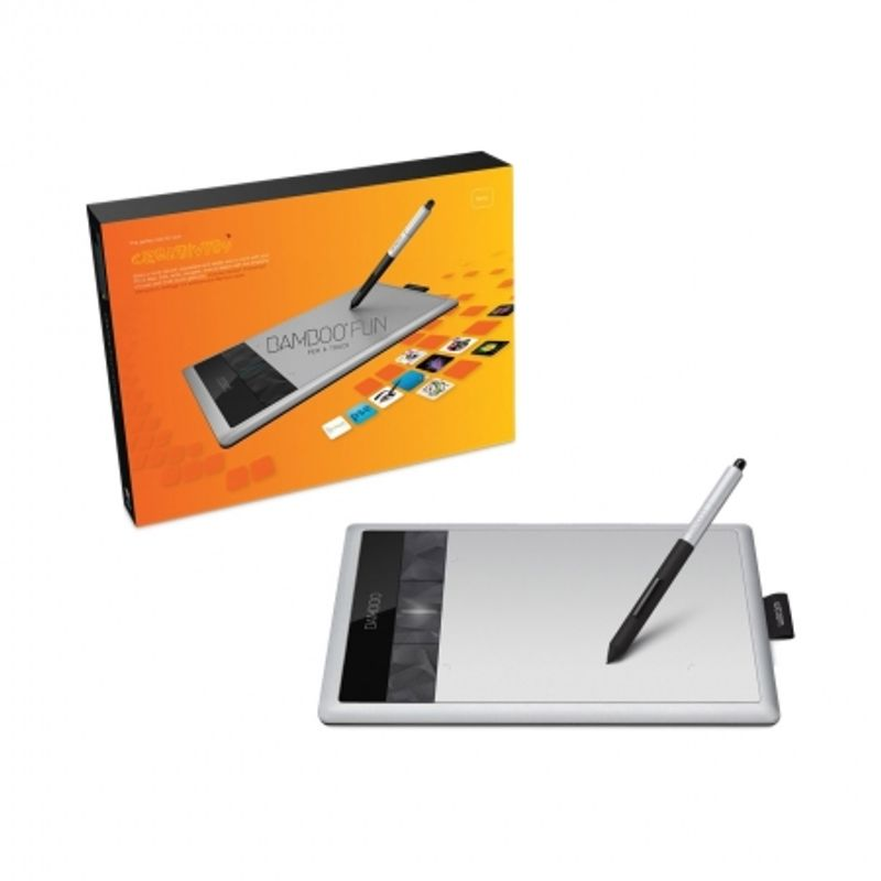 wacom-bamboo-fun-pen-and-touch-small-cth-470s-argintie-tableta-grafica-20331-1