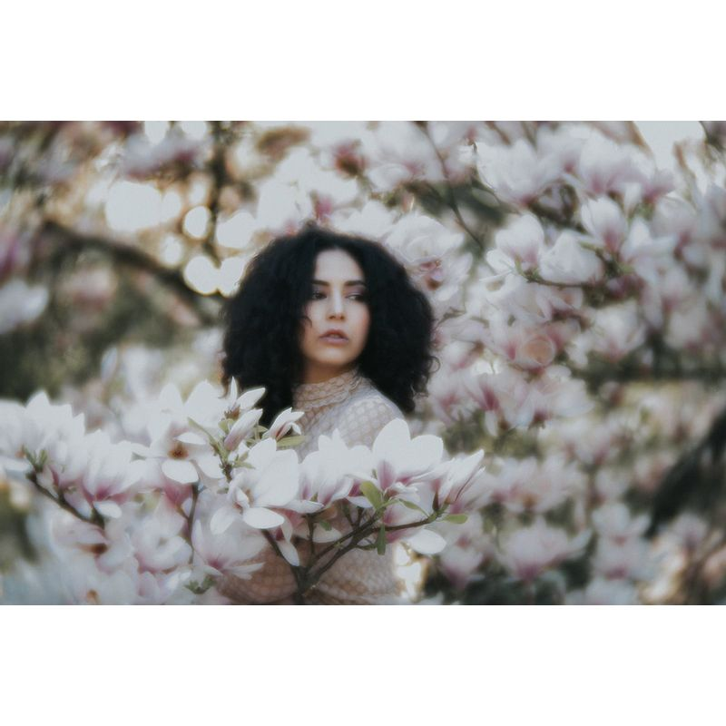 lensbaby_velvet-85-soulchasingphotography-portrait-woman-in-flower-tree