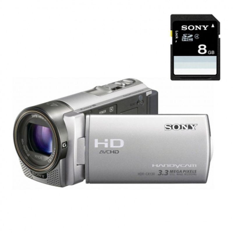 sony-hdr-cx130s-card-sd-8gb-camera-video-full-hd-obiectiv-g-zoom-30x-argintie-19032