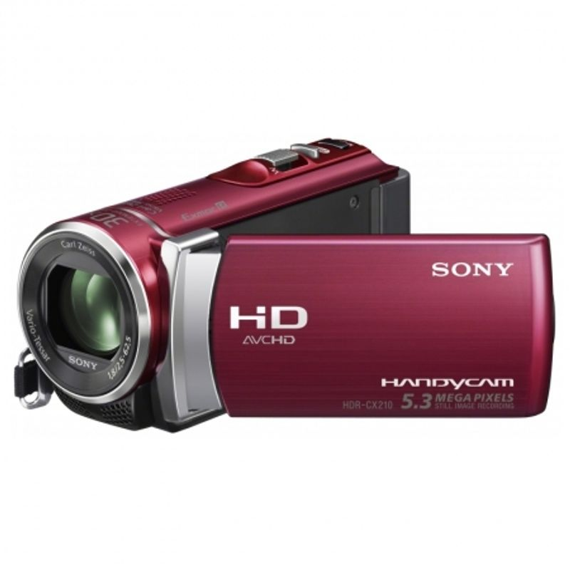sony-hdr-cx210e-rosu-camera-video-fullhd-8gb-zoom-optic-25x-21671