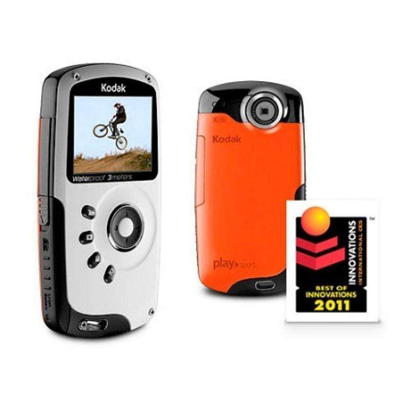 kodak-zx3-playsport-orange-sd-2gb-camera-foto-video-subacvatica-22633-1
