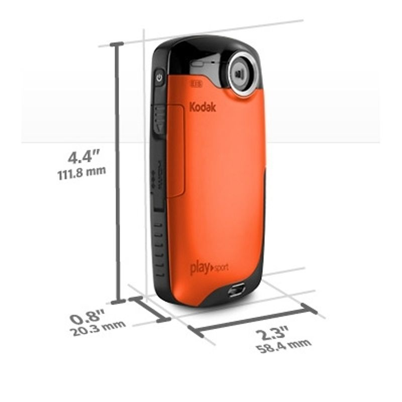 kodak-zx3-playsport-orange-sd-2gb-camera-foto-video-subacvatica-22633-3