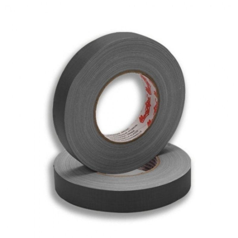 lemark-banda-adeziva-negru-mat-25mm-20846
