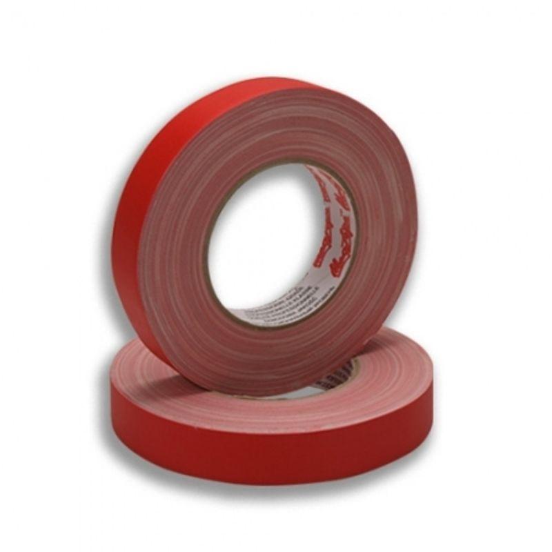 lemark-banda-adeziva-rosu-mat-25mm-20848