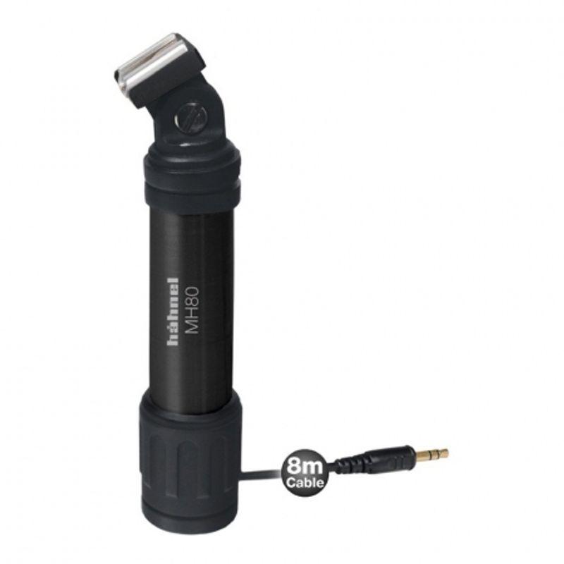hahnel-mh80-suport-microfon-cablu-8m-24116