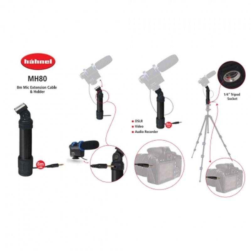 hahnel-mh80-suport-microfon-cablu-8m-24116-4