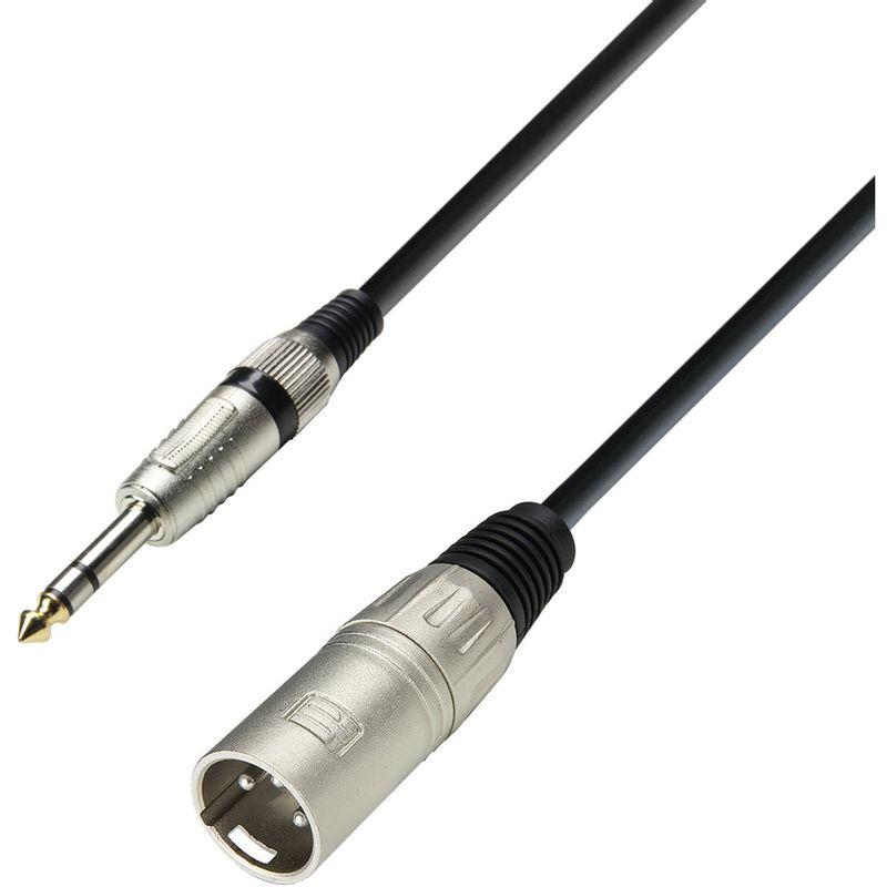 adam-hall-cablu-xlr-t-trs-3m-13650