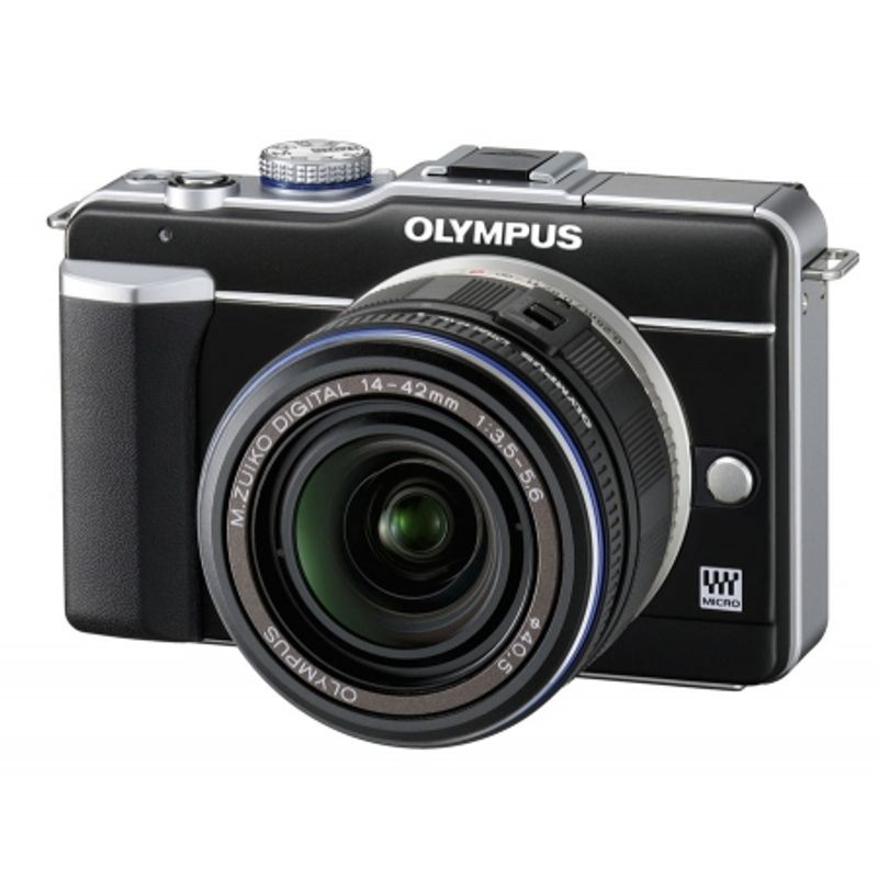 olympus-pen-e-pl1-negru-olympus-mft-zuiko-14-42mm-f-3-5-5-6-negru-olympus-zuiko-ed-40-150mm-f-4-5-6-micro-negru-12918-2