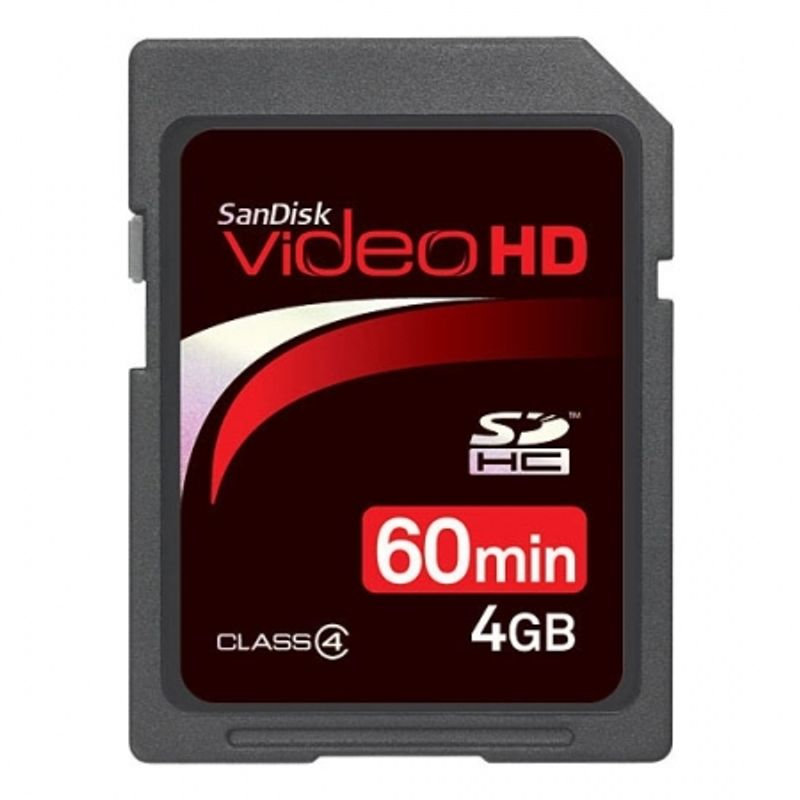 sandisk-sdhc-video-hd-4gb-ultra-ii-class-4-11825