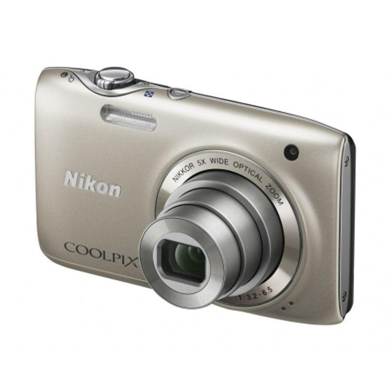 nikon-coolpix-s3100-silver-card-sd-4gb-geanta-nikon-seria-s-18145-1