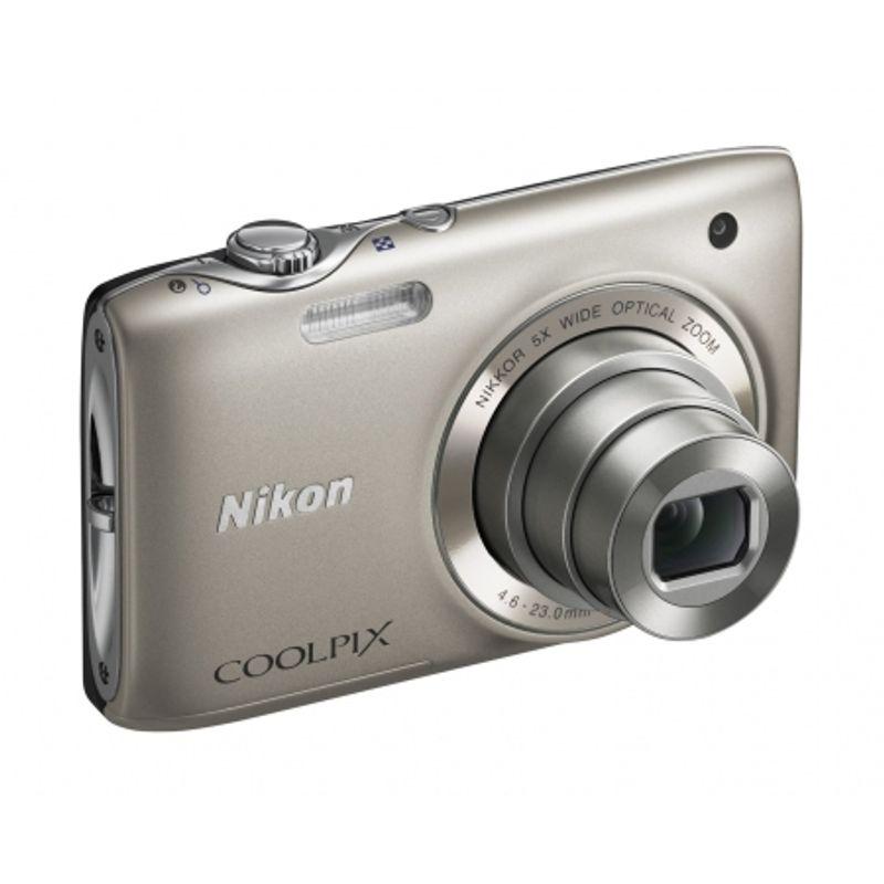 nikon-coolpix-s3100-silver-card-sd-4gb-geanta-nikon-seria-s-18145-2