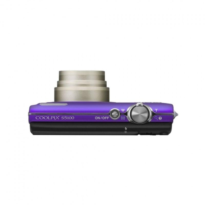 nikon-coolpix-s5100-violet-card-sd-4gb-husa-nikon-s-18164-6