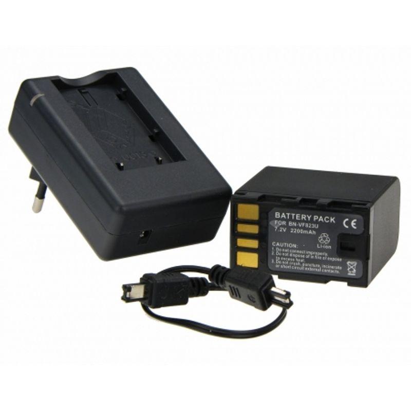 power3000-bn-vf823-incarcator-acumulator-tip-bn-vf823-pentru-jvc-2200mah-13485