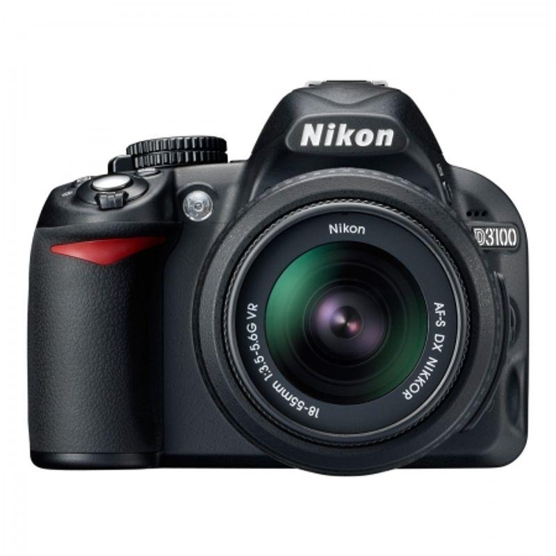 nikon-d3100-kit-18-55mm-vr-af-s-dx-cadou-nikon-l23-negru-21762-1