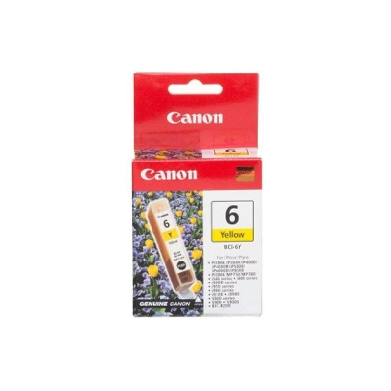 cartus-canon-bci6y-galben-17460-363