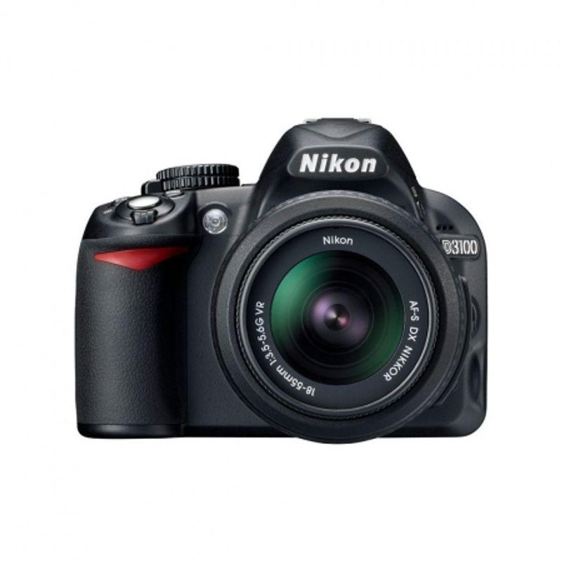 nikon-d3100-negru-kit-18-55mm-vr-geanta-nikon-cf-eu05-sandisk-sdhc-8gb-ultra-ii-20mb-s-cablu-nikon-minihdmi-2-5m-cablu-usb-21115-1