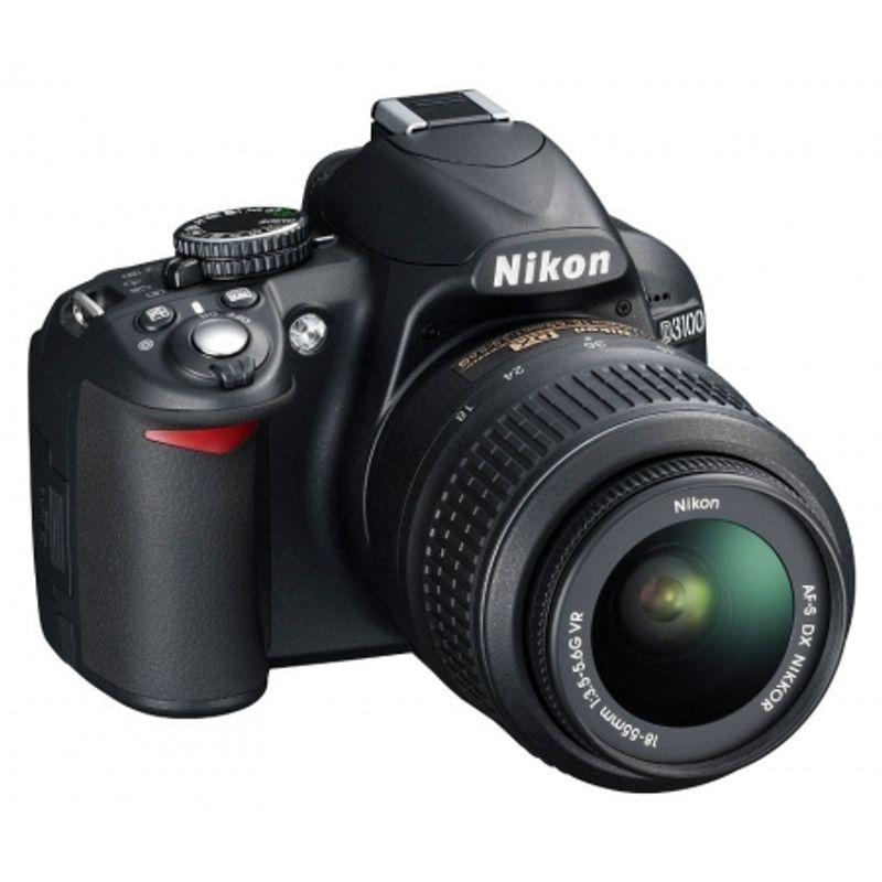 nikon-d3100-kit-18-55mm-vr-af-s-dx-blitz-nissin-466-cabluri-21636-1