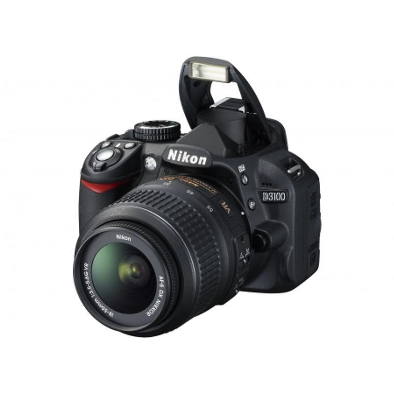 nikon-d3100-negru-dublu-kit-18-55mm-vr-55-200mm-vr-geanta-nikon-cf-eu05-card-sandisk-sdhc-8gb-extreme-video-30mb-s-cabluri-hdmi-usb-21872-6
