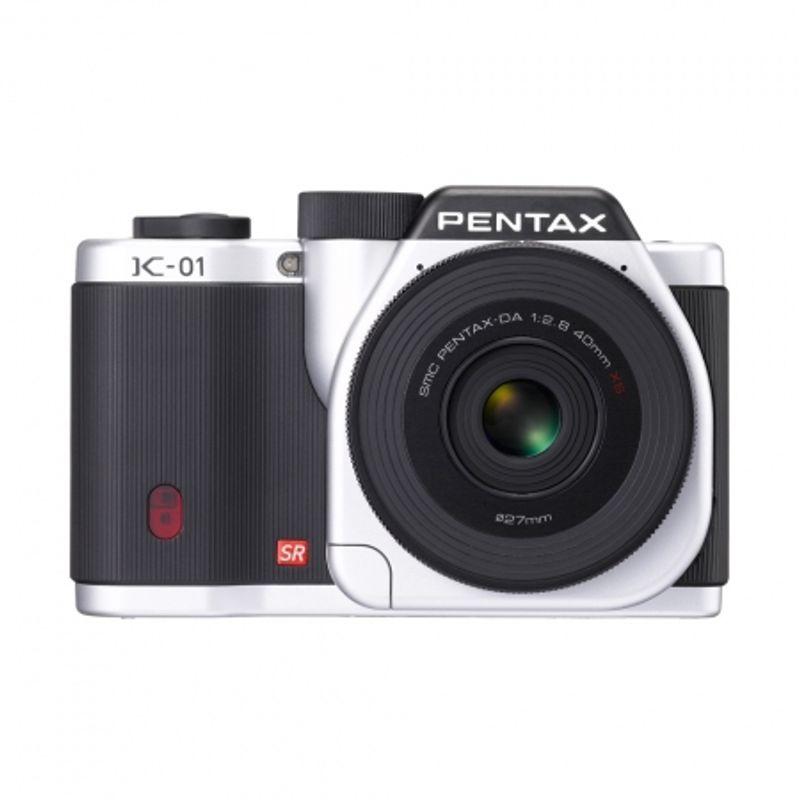 pentax-k-01-kit-da-40mm-f-2-8-silver-black-aparat-foto-mirrorless-22108