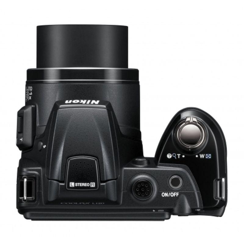 nikon-coolpix-l120-negru-card-sd-8gb-sandisk-std-geanta-nikon-cs-p08-energizer-compact-charger-4aa-2000mah-velbon-df-60-trepied-foto-nikon-hdmi-mini-cable-type-a-c-2-5m-22200-6