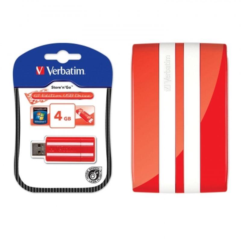 verbatim-portable-hard-drive-usb-2-0-hard-disk-portabil-500gb-gt-red-white-stripe-stick-usb-store-n-go-gt-4gb-19814