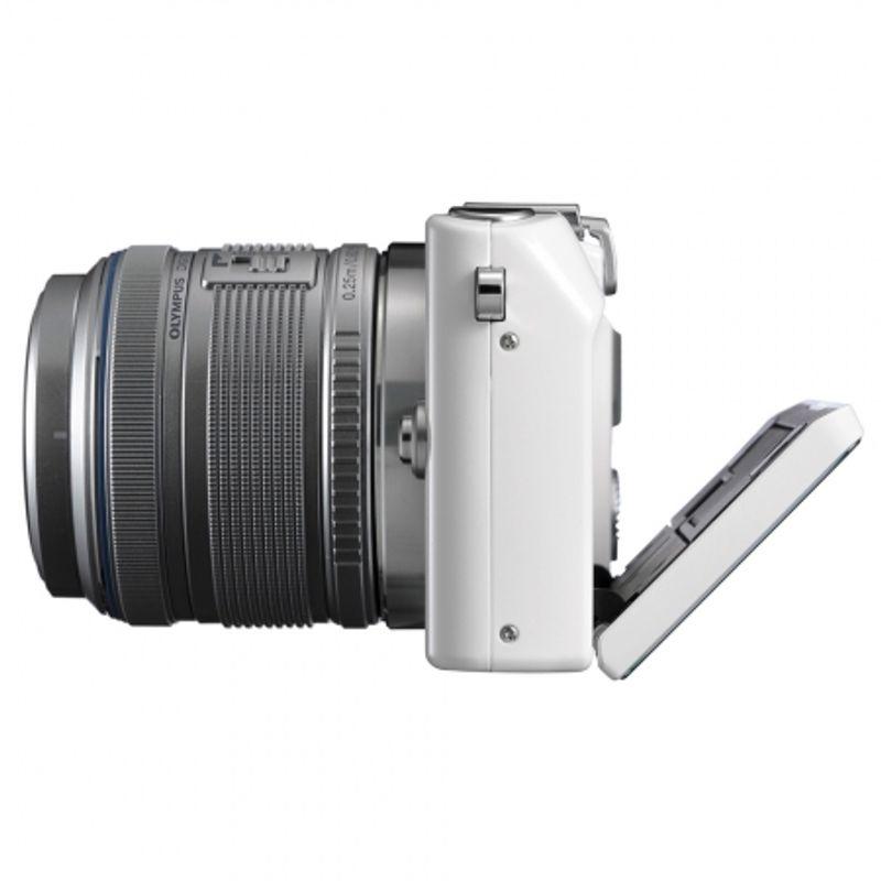 olympus-e-pl3-alb-kit-obiective-olympus-m-zuiko-digital-14-42mm-argintiu-olympus-m-zuiko-digital-40-150mm-argintiu-24844-4