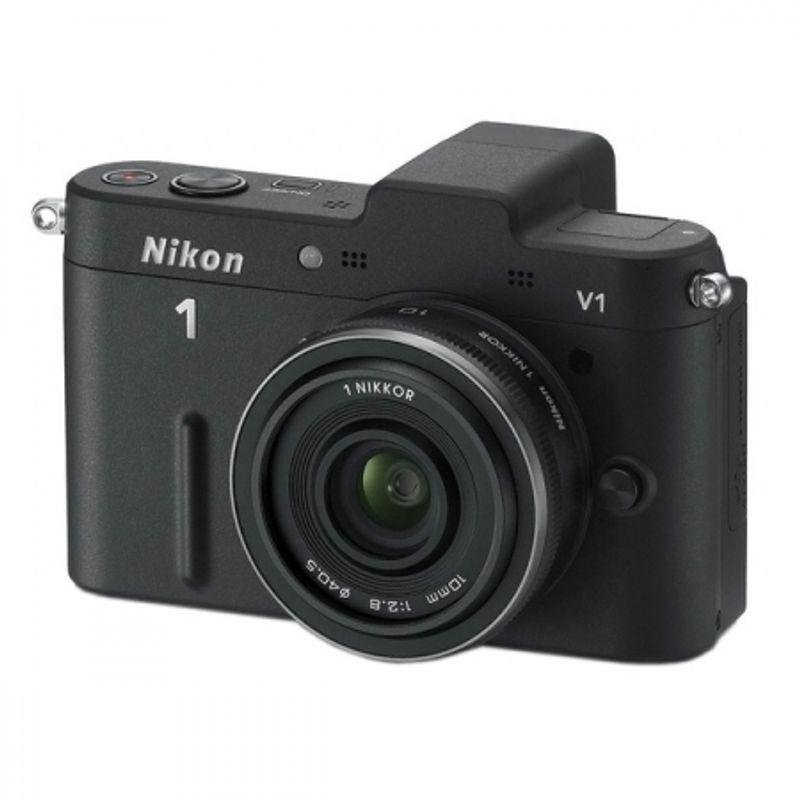 nikon-1-v1-negru-kit-nikkor-1-10mm-f-2-8-24957