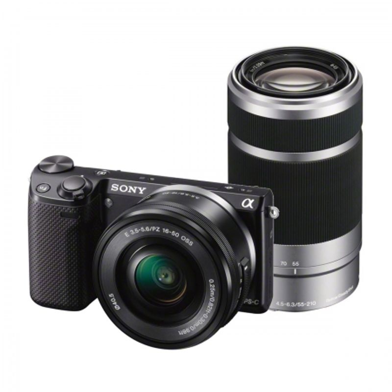 sony-nex-5rk-negru-sel16-50-sel55-210-nex5ryb-ce-25080