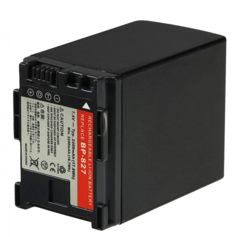 power3000-pl827b-725-acumulator-tip-bp-827-pentru-canon--2400mah-23721