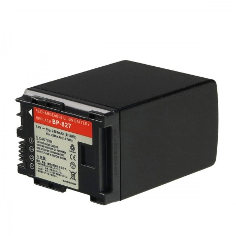 power3000-pl827b-725-acumulator-tip-bp-827-pentru-canon-xa10-2400mah-23721-1