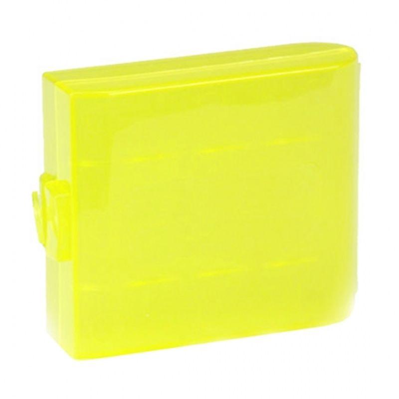 power3000-cutie-pentru-4-acumulatori-r6-aa-galbena-24157