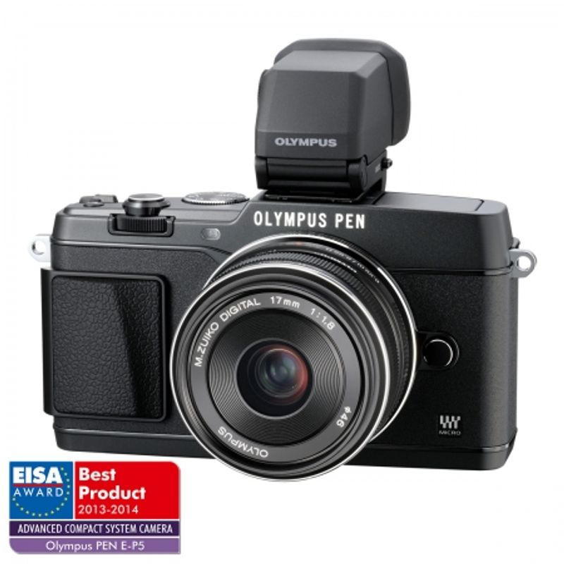 olympus-e-p5-kit-17mm--1-8-vizor-electronic-vf-4-negru-28908