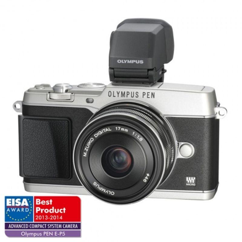 olympus-e-p5-kit-17mm-f-1-8--vizor-electronic-vf-4-argintiu-28909