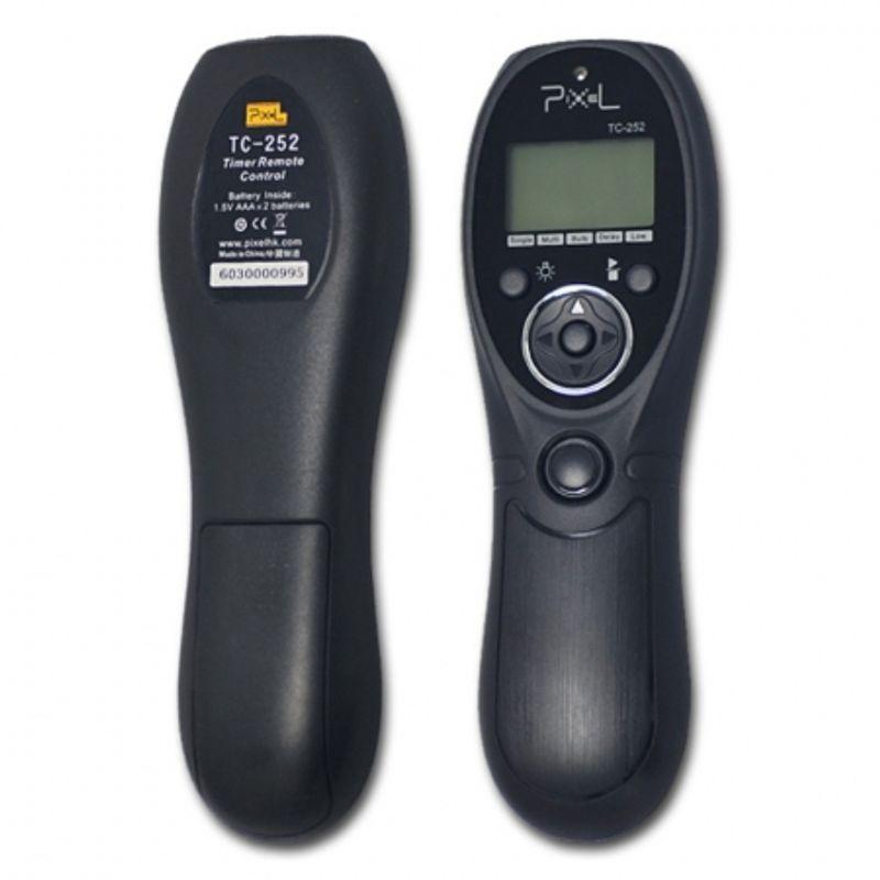 pixel-tc-252-n3-timer-si-telecomanda-pe-fir-pentru-canon-6d-7d-5d-5d-ii-5d-iii-40d-30d-20d-10d-24601-2