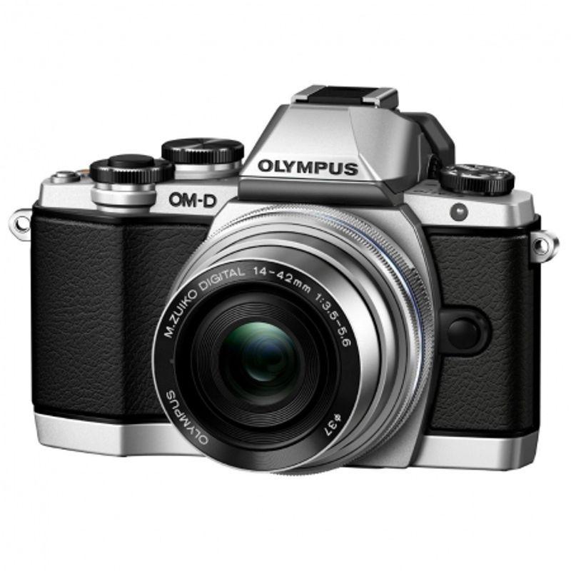 olympus-om-d-e-m10-kit-cu-14-42mm-argintiu-31858-1