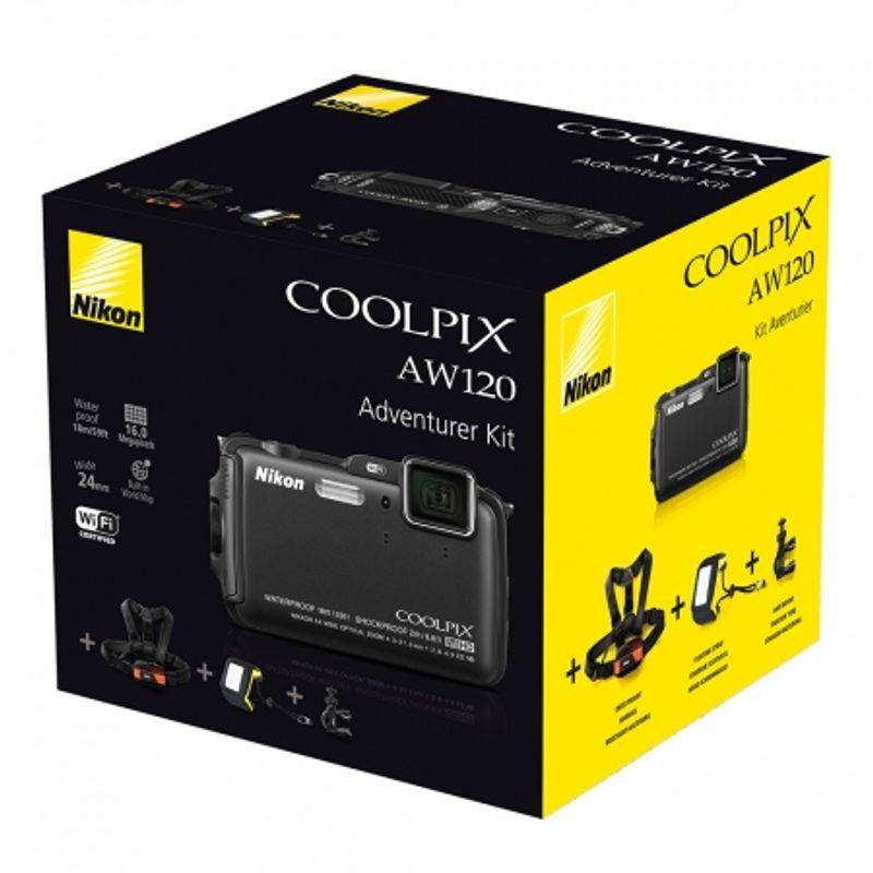 nikon-coolpix-aw120-adventurer-kit-negru-34527