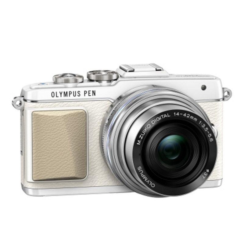 olympus-e-pl7-alb-14--8209-42mm-1-3-5--8209-5-6-ez-pancake-argintiu--36714-2