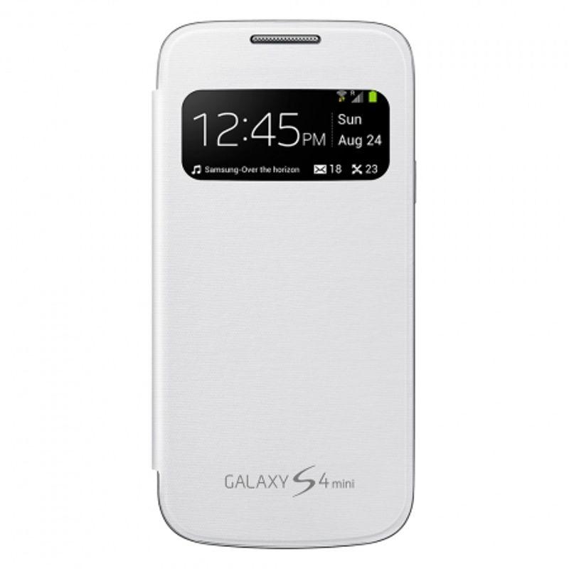 samsung-s-view-cover-white-pentru--galaxy-s4-mini-i9195--28454
