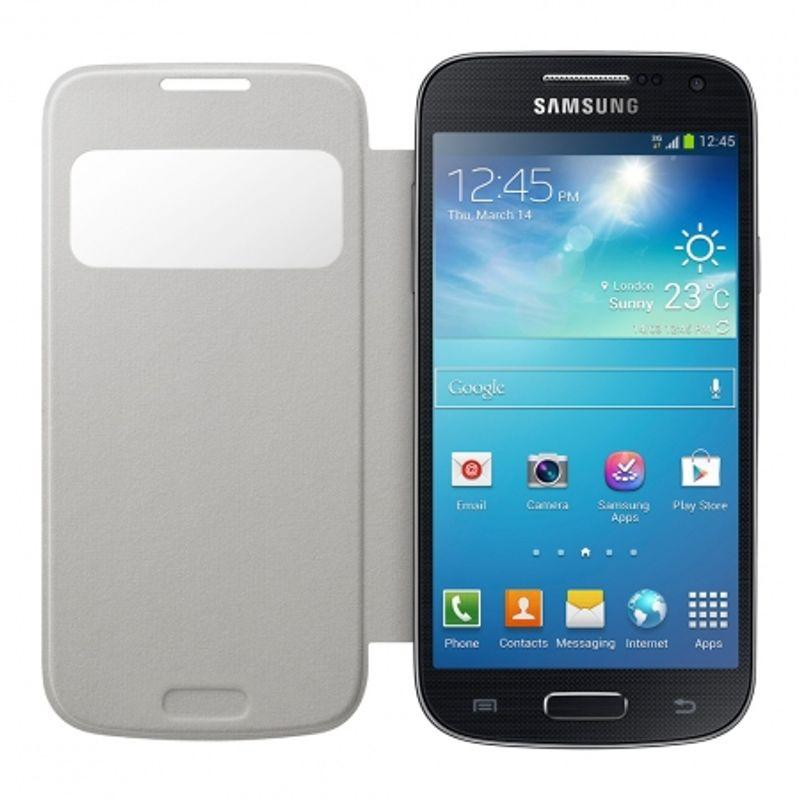 samsung-s-view-cover-white-pentru--galaxy-s4-mini-i9195--28454-2