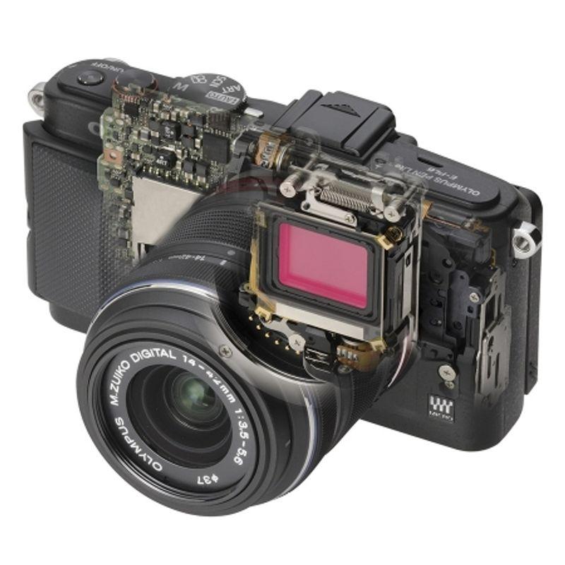 olympus-e-pl6-negru-kit-cu-14-42mm-ii-r-negru-si-40-150mm-r-negru-41120-487-483