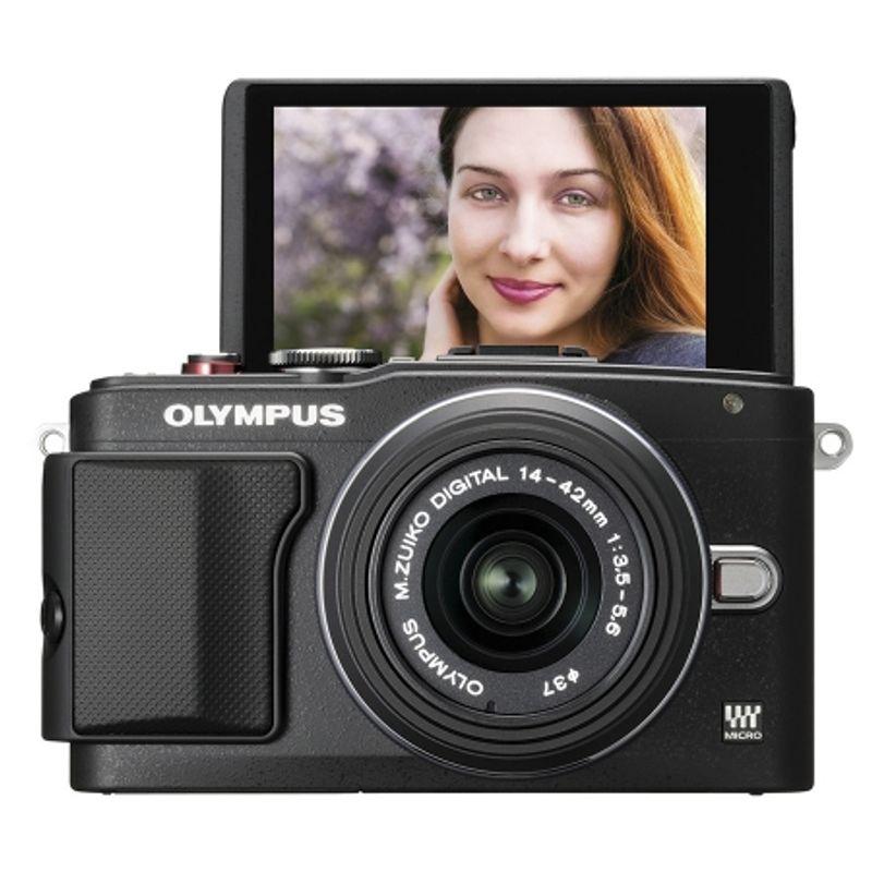 olympus-e-pl6-negru-kit-cu-14-42mm-ii-r-negru-si-40-150mm-r-negru-41120-3-755