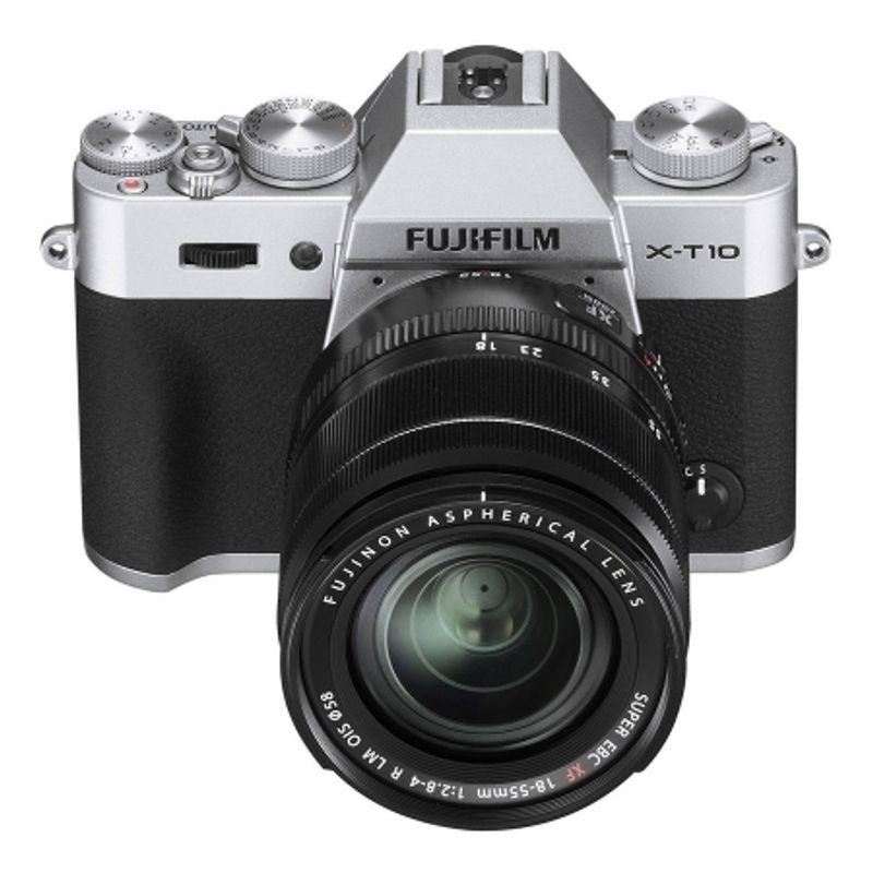 fujifilm-x-t10-argintiu-kit-fujinon-xf-18-55mm-f-2-8-4-r-lm-ois-negru-42233-1
