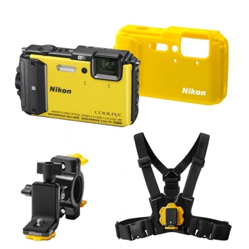 nikon-coolpix-aw130-outdoor-kit-galben--42812-943