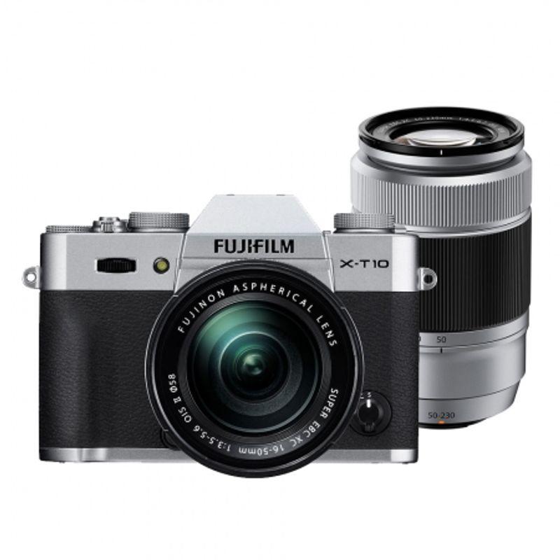 fujifilm-x-t10-argintiu-kit-16-50mm-50-230mm-47327-328