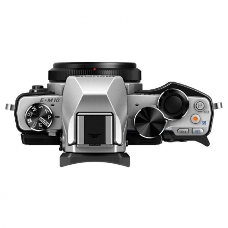kit-olympus-om-d-e-m10-argintiu-ez-m1442-ii-r-negru-m-zuiko-digital-ed-40-150mm-1-4-0-5-6-r---ez-m4015-r-negru-50491-2-761