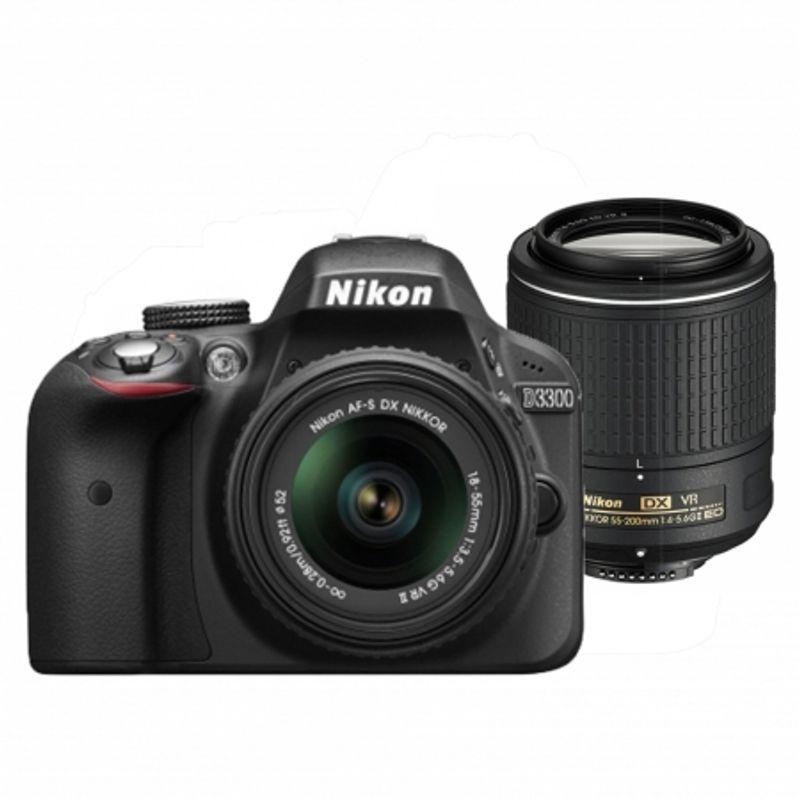 nikon-d3300-dual-zoom-kit--af-p-18-55-vr-55-200-vrii--negru--54097-241